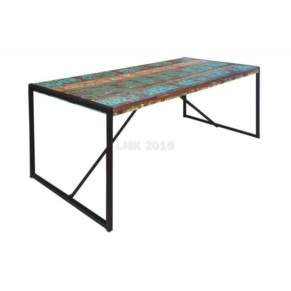tisch vintage look kd73 kyushucon. Black Bedroom Furniture Sets. Home Design Ideas