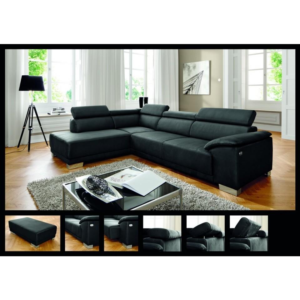Couch Wohnlandschaft Aspen Stilecht Polstermobel Systemgarnituren
