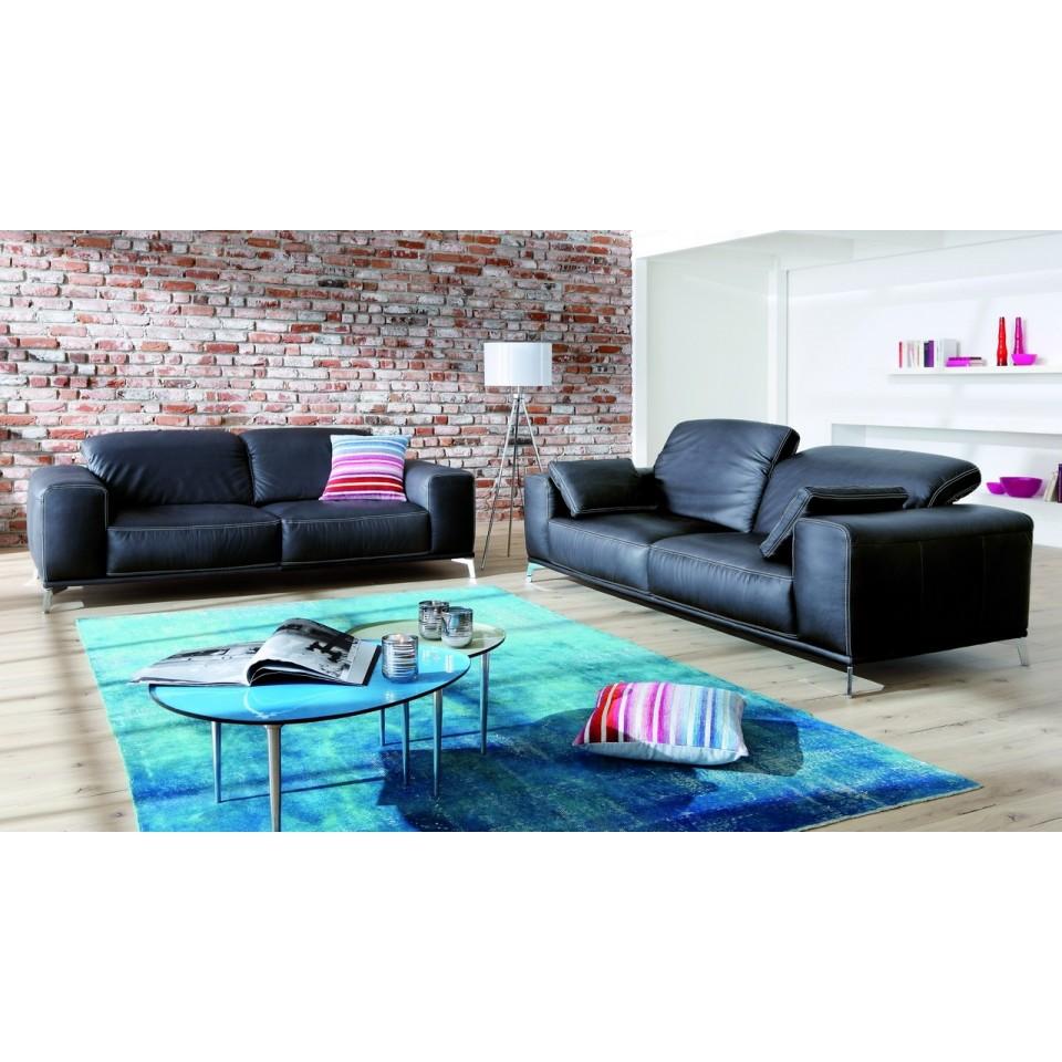 Couch Wohnlandschaft Calvaro 2 Stilecht Polstermobel