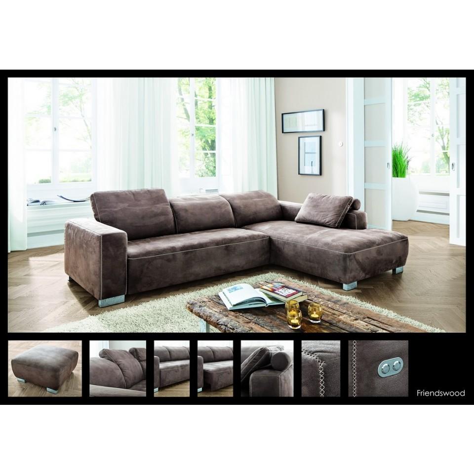 Couch,Wohnlandschaft,Friendswood,Stilecht,Polstermöbel ...