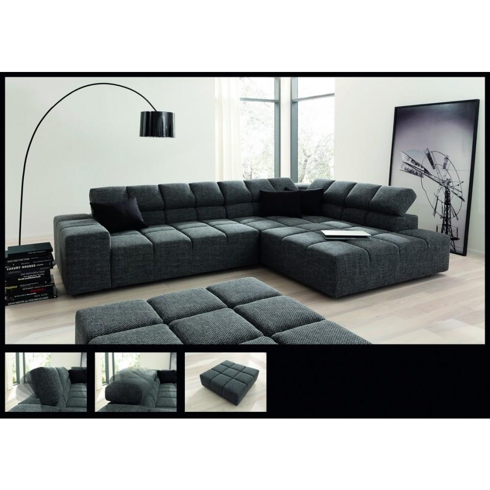 Couch Wohnlandschaft Ostende Stilecht Polstermobel Systemgarnituren