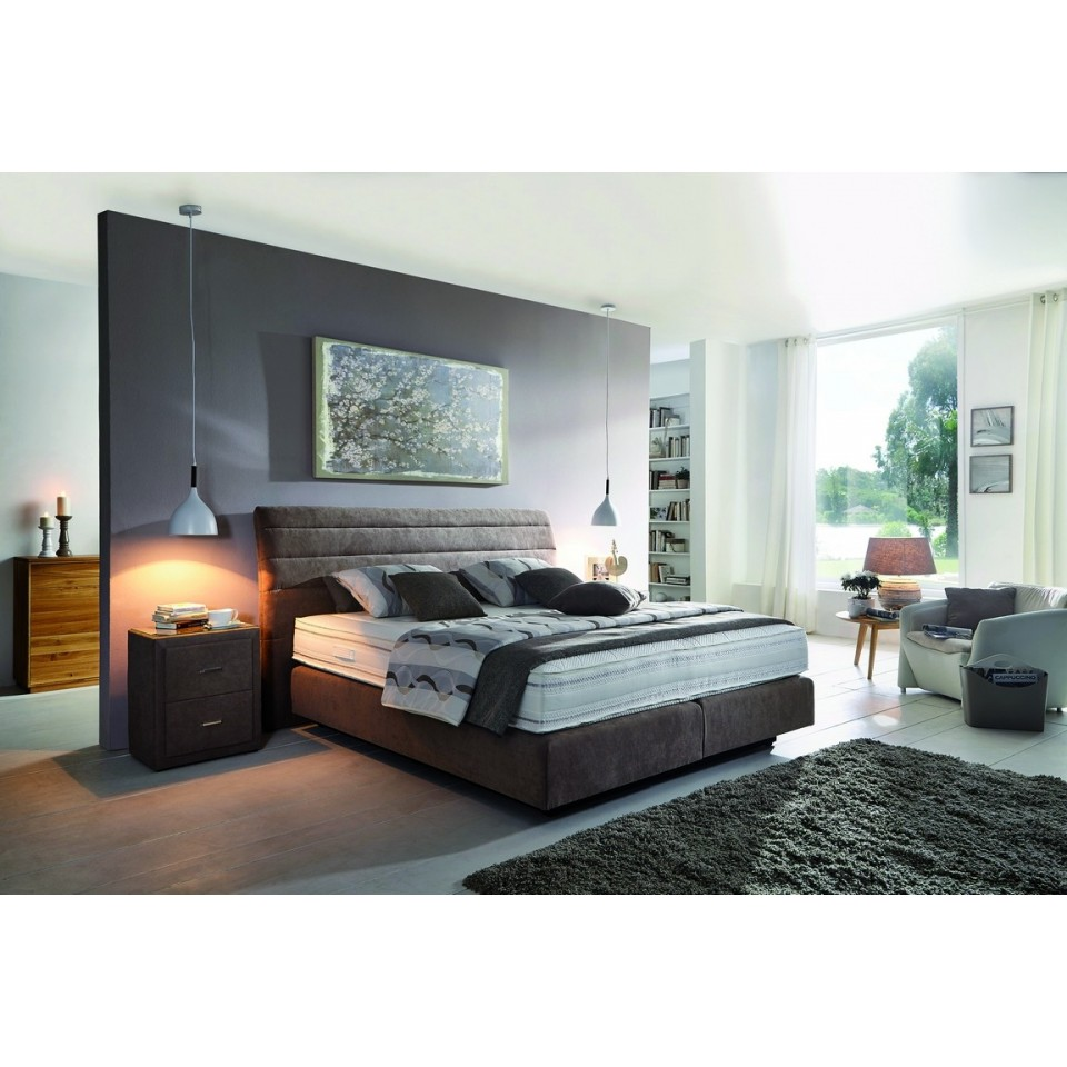 boxspringbett belcanto oxana polsterbett mit kopfteil stabiles polsterbett boxspring polsterbett. Black Bedroom Furniture Sets. Home Design Ideas