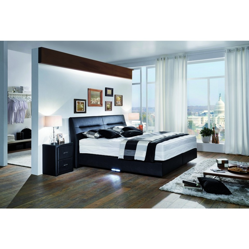 boxspringbett belcanto ovette polsterbett mit kopfteil stabiles polsterbett boxspring. Black Bedroom Furniture Sets. Home Design Ideas