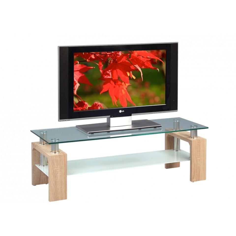 tv lowboard holz glas. Black Bedroom Furniture Sets. Home Design Ideas