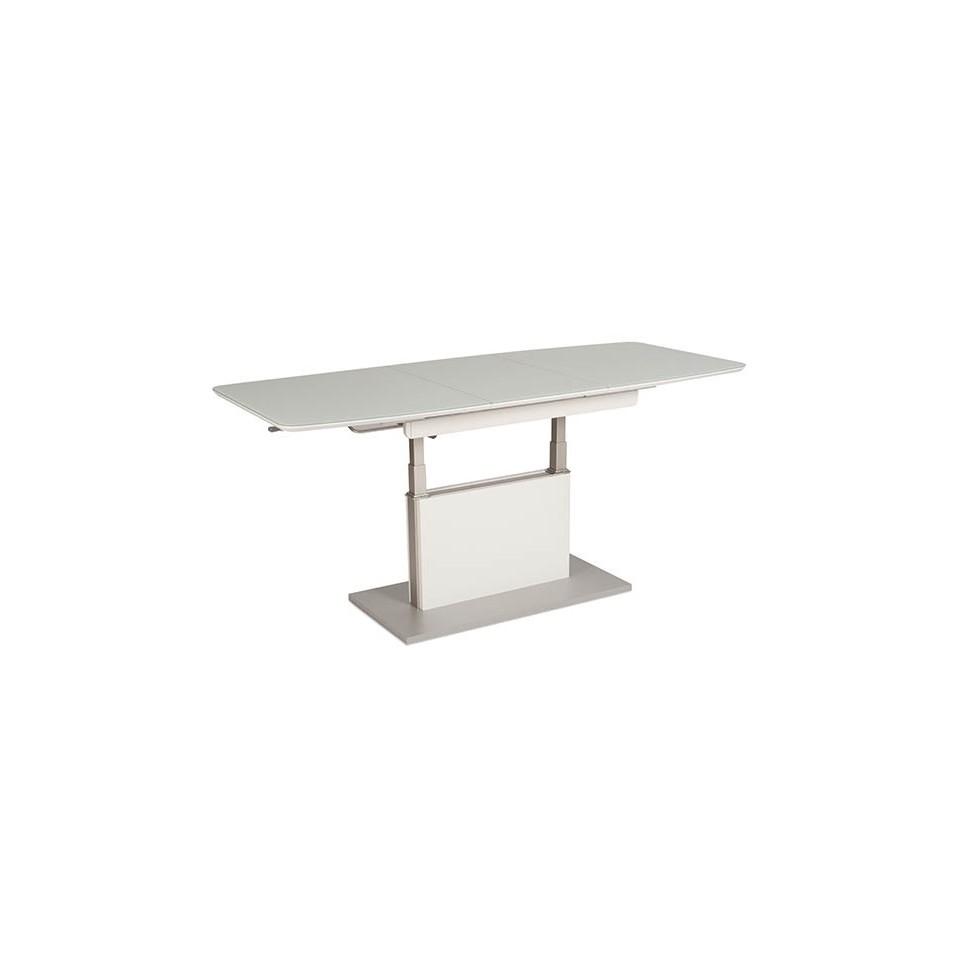 vierhaus tisch tisch mit funktion tisch mit lift lift mechanik tisch lack hochglanz glastisch. Black Bedroom Furniture Sets. Home Design Ideas